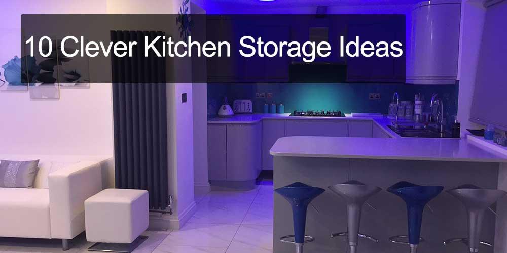 10 Clever Kitchen Storage Ideas...
