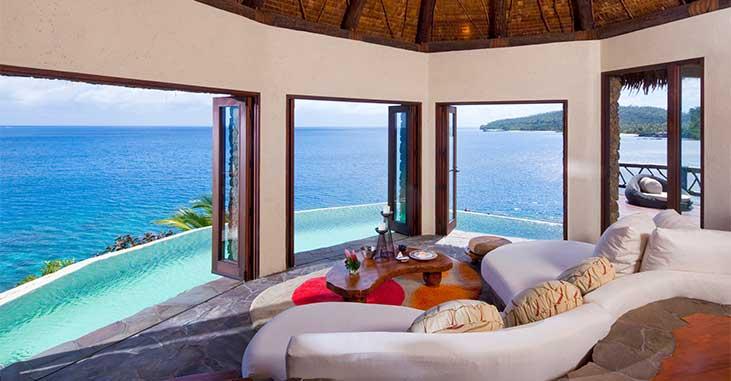 Hilltop Villa Fiji - View