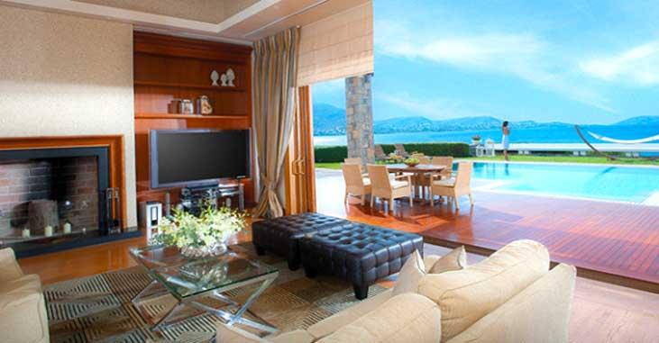 The Royal Villa Athens - View