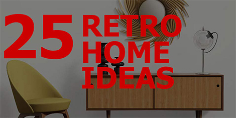 25 Retro Home Ideas...