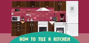 How To Tile A Kitchen...