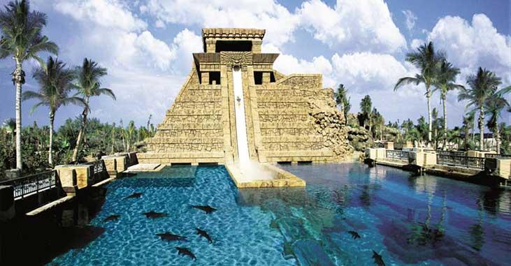 Atlantis Paradise Island - Water slide