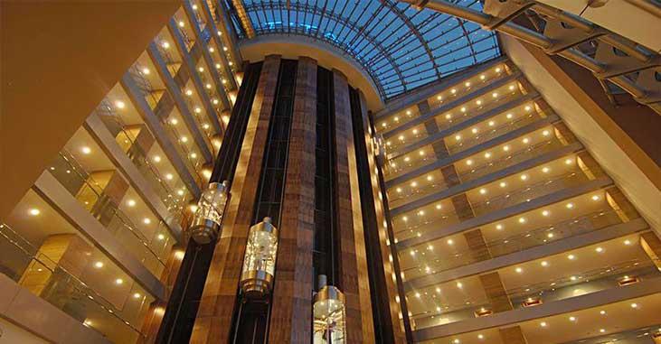 Hotel Titanic - Lift system
