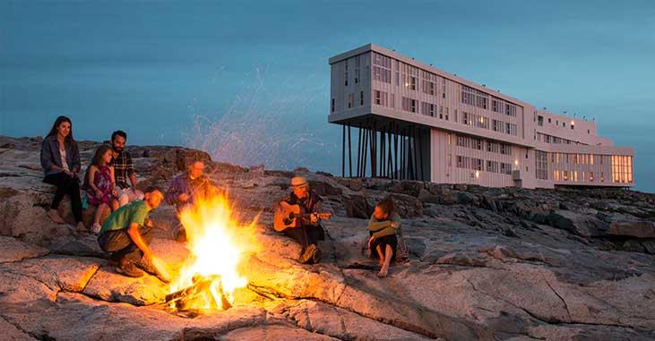Fogo Island Inn - Campfire