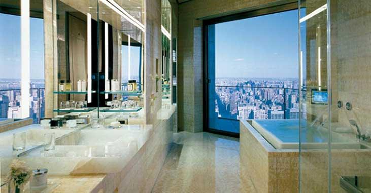Ty Warner Penthouse Four Season Hotel New York - Bathroom