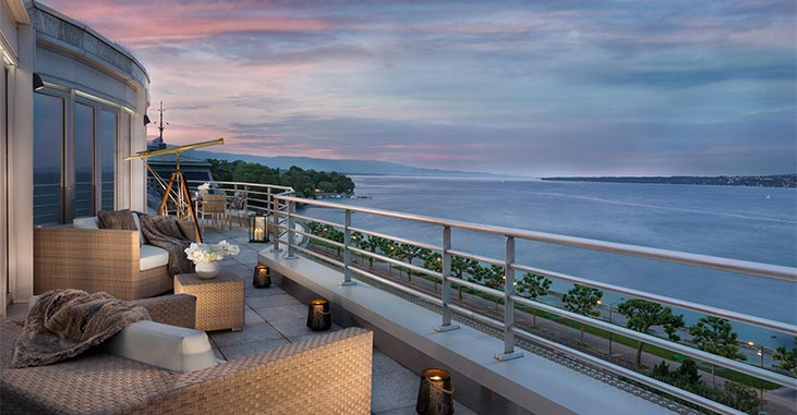Hotel President Wilson - Geneva Switzerland