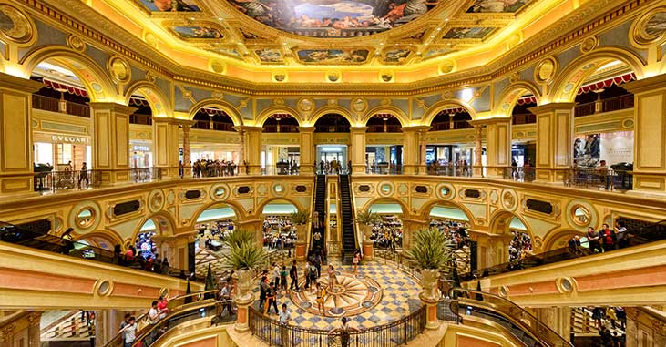 The Venetian Macao - Shopping Mall