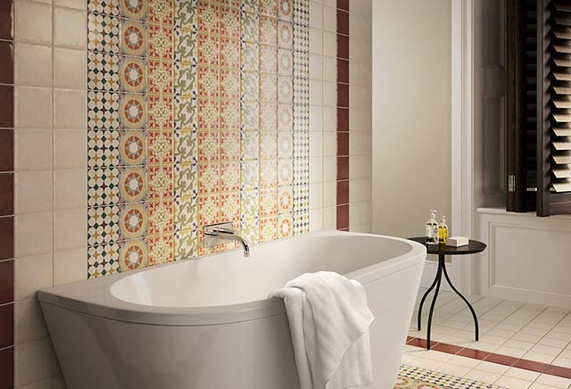 Retro Wall and Floor Tiles