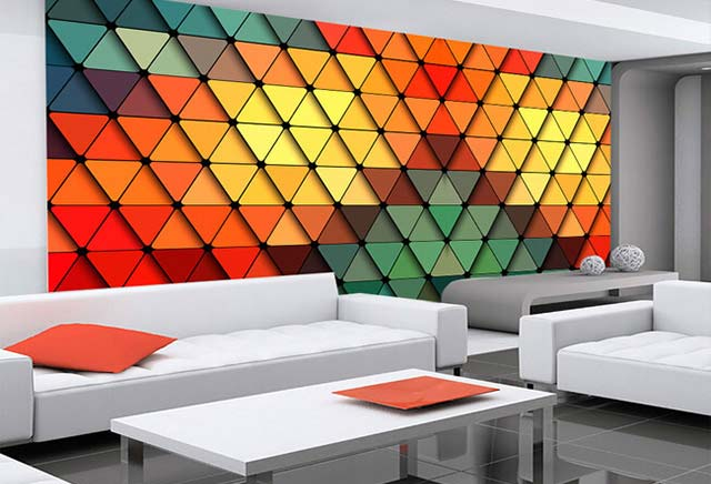 Bright Wall Design