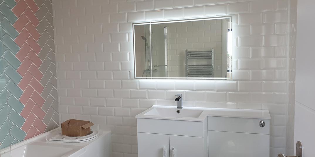 Metro Brick Bathroom Tiles
