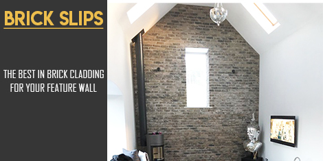 Brick Slips Feature Walls