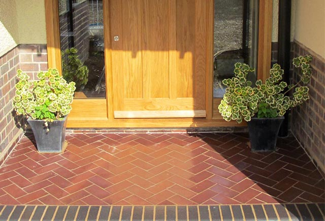 Terracotta Porch Tiles