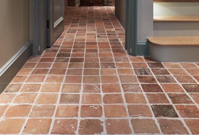 Terracotta Hallway Tiles