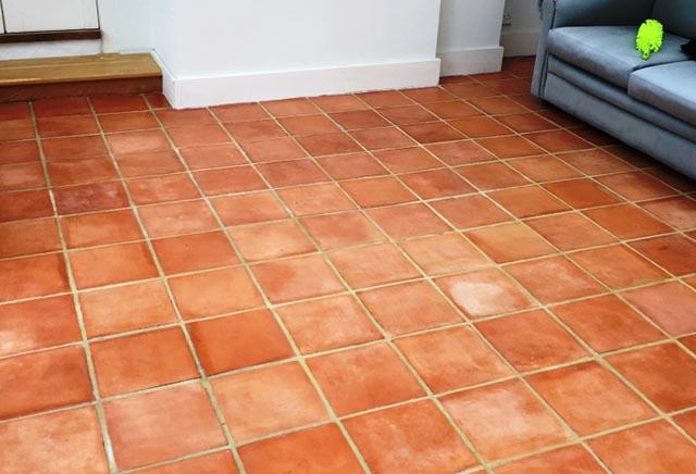 Terracotta Conservatory Tiles