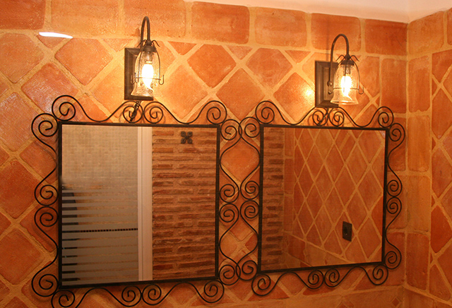 Terracotta Feature Wall Tiles