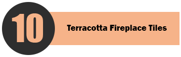 Terracotta Fireplace Tiles