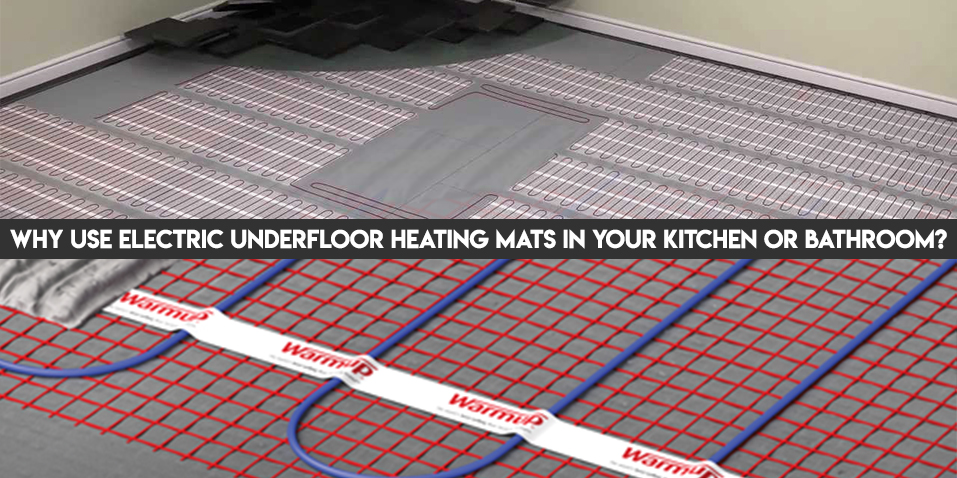 Strange Why Use Electric Underfloor Heating Mats Tilesporcelain Interior Design Ideas Greaswefileorg