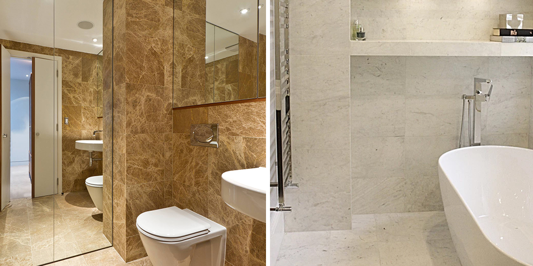 Natural Stone Wet Room