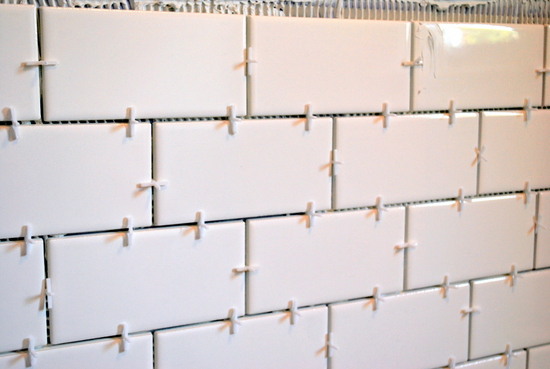 How to Tile a wall...
