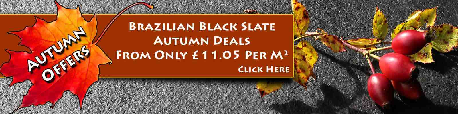 Brazilian Black Slate October Bargain