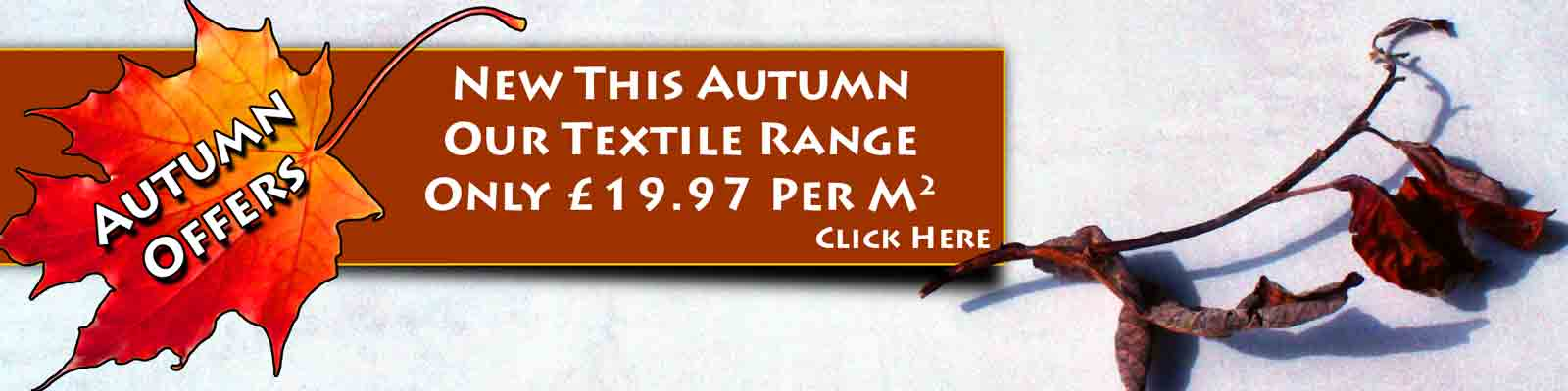 New Textiles This Autumn