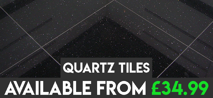 Quartz Floor and Wall Tiles