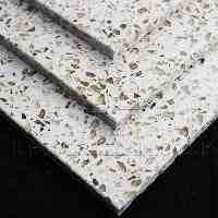 http://www.tilesporcelain.co.uk/Cosmos White Quartz Tiles (Gold Sparkle)