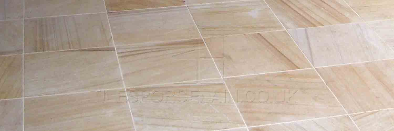 Wood grain ceramic tiles
