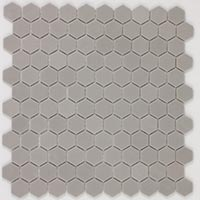 Hexagon Nature Grey Mosaic