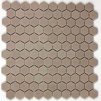 Hexagon Nature Moka Mosaic