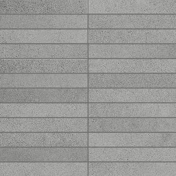 Grey X Plane Stoneware Mosaic Strips Porcelain Tiles