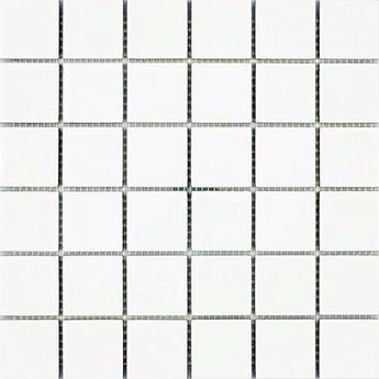 Mosaic Effect Arkitekt Gloss White Porcelain Tiles