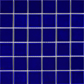 Arkitekt Gloss Dark Blue Mosaic Tiles