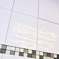 Relief Super White Gloss Tiles