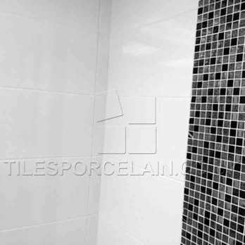 Super White Glossy Ceramic Tiles