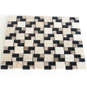 Link Dark Beige Mosaic