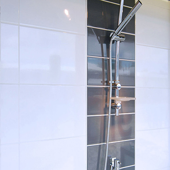 Glazed White Ceramic Wall Tiles