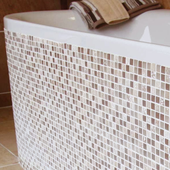Accord Desert Sand Mosaic Tiles