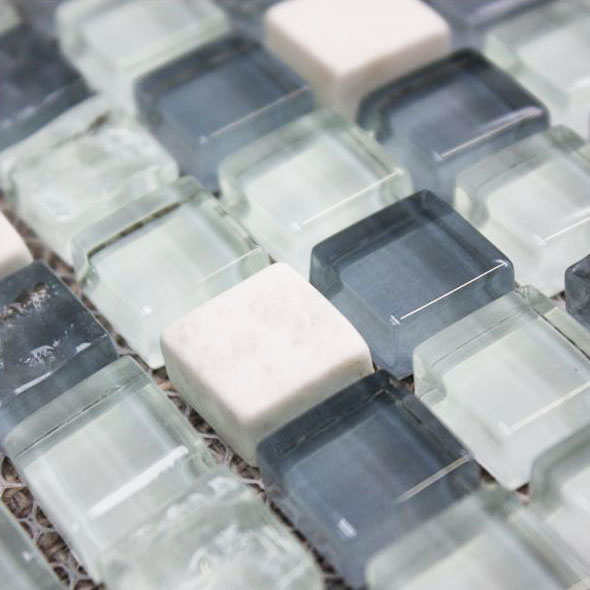 Accord Ice Cube Mosaic Tiles