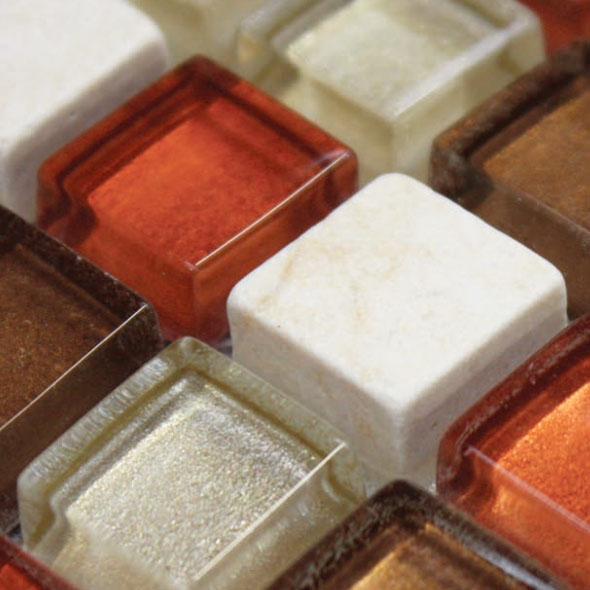 Accord Copper Bronze Mosaic Tiles
