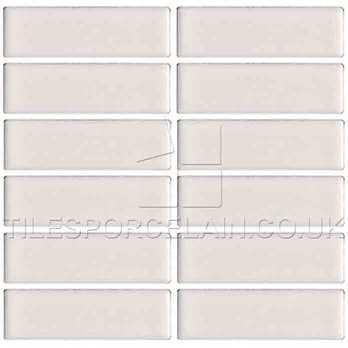 B-8112 Buttermilk Cream Mosaic Tile Sheet