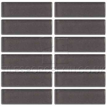 Smart Gunmetal Grey Mosaic Ceramic Tiles
