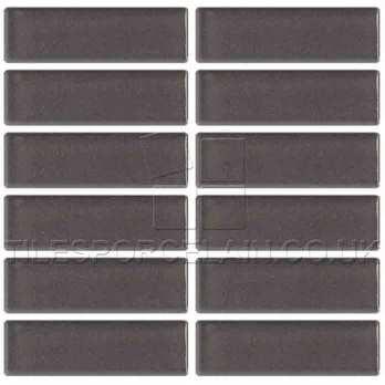 Smart Gunmetal Grey Mosaic Ceramic Tiles