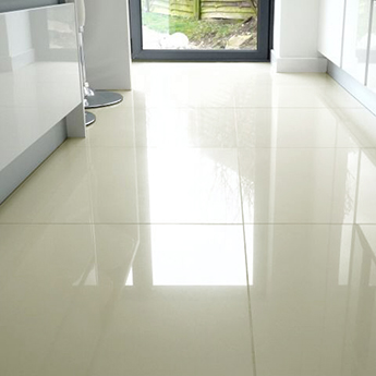 Cream Polished Porcelain Tiles 600mm X 600mm Tilesporcelain