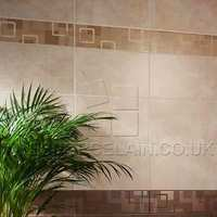 http://www.tilesporcelain.co.uk/Dartmoor Naturals Pulpis Geo Ceramic Border Tile