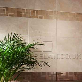 Dartmoor Naturals Pulpis Geo Ceramic Border Tiles