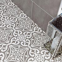 Devonstone Feature Floor Grey Tiles