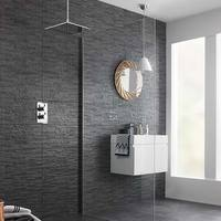 HD Slate Splitface Black Tiles