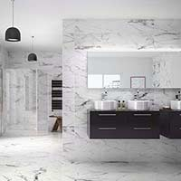 Geneva HD Marble Effect Wall