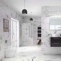 Geneva HD Marble Effect Floor Tiles